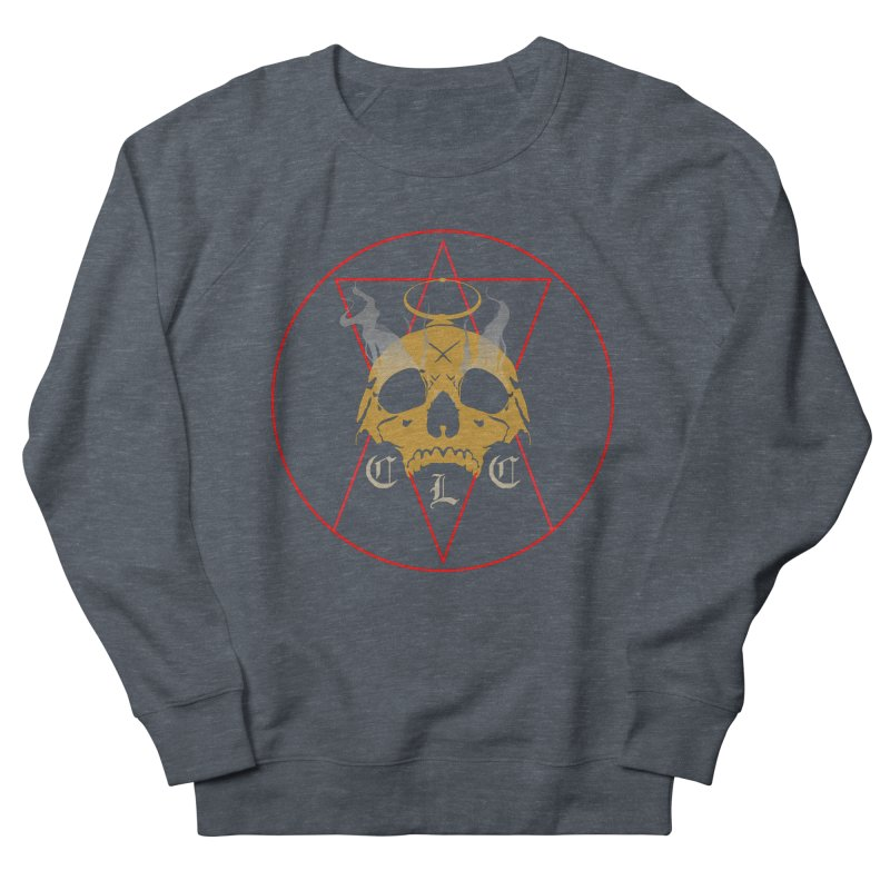 """CLC """"Broken Up"""" Logo Women's French Terry Sweatshirt by Cold Lantern Collection"""
