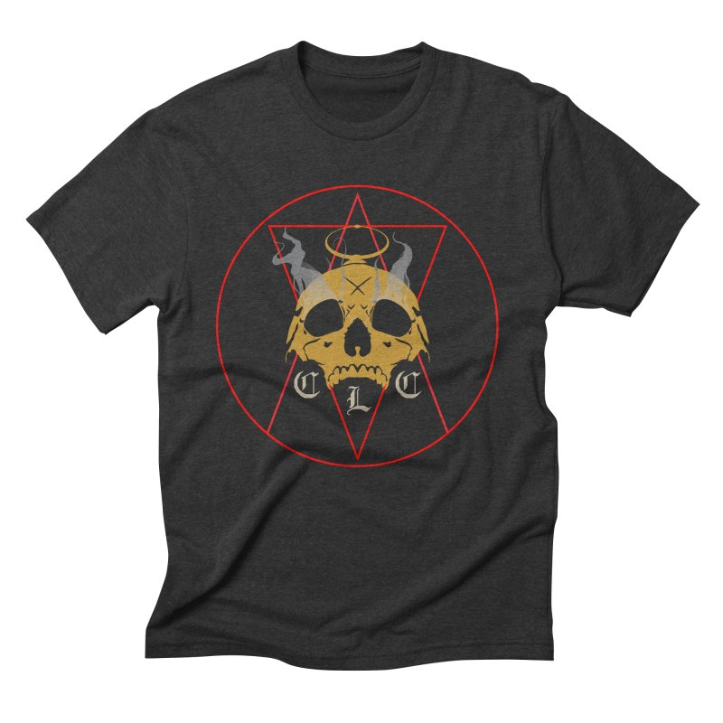 "CLC ""Broken Up"" Logo Men's Triblend T-Shirt by Cold Lantern Collection"