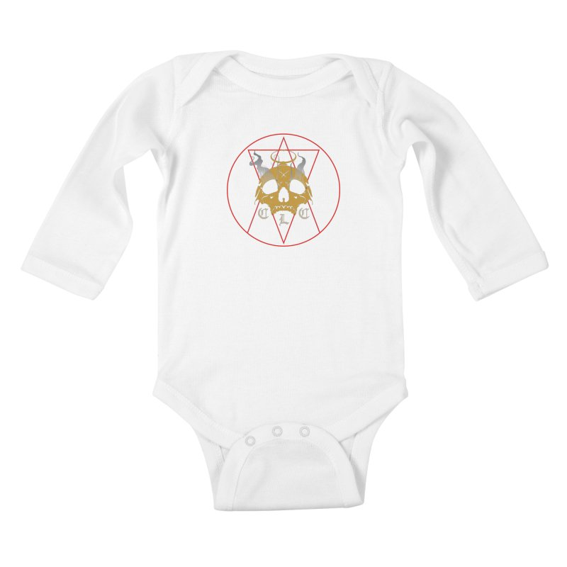 "CLC ""Broken Up"" Logo Kids Baby Longsleeve Bodysuit by Cold Lantern Collection"