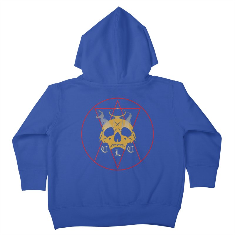 """CLC """"Broken Up"""" Logo Kids Toddler Zip-Up Hoody by Cold Lantern Collection"""