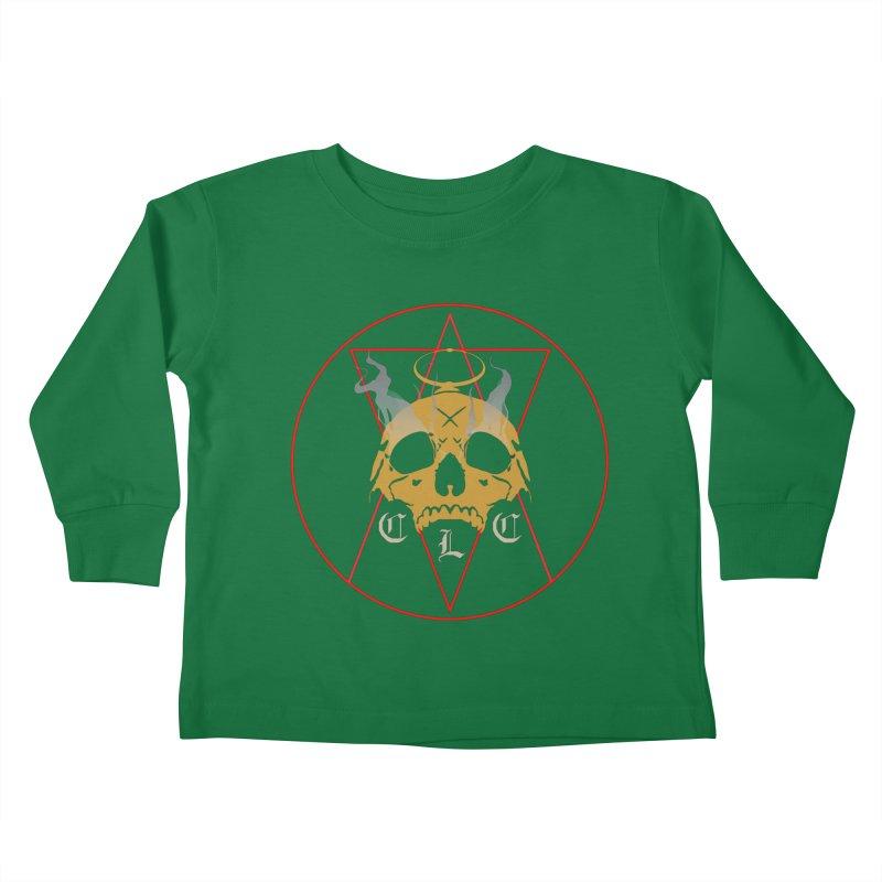 "CLC ""Broken Up"" Logo Kids Toddler Longsleeve T-Shirt by Cold Lantern Collection"