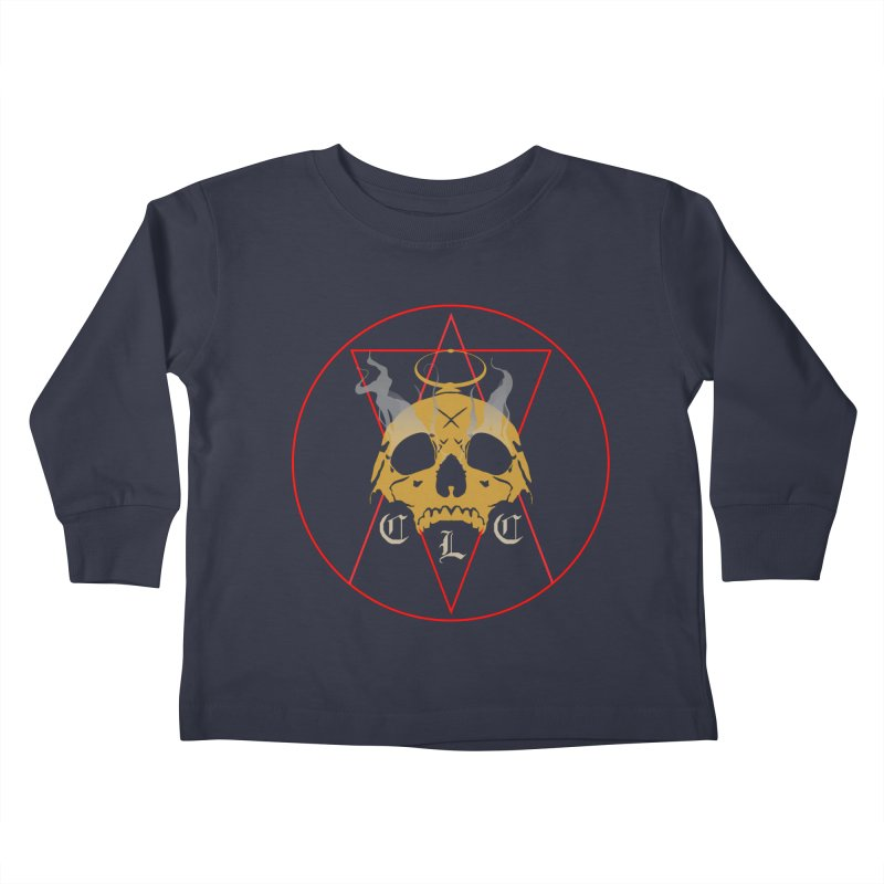 "CLC ""Broken Up"" Logo Kids Toddler Longsleeve T-Shirt by Cold Lantern Collection"