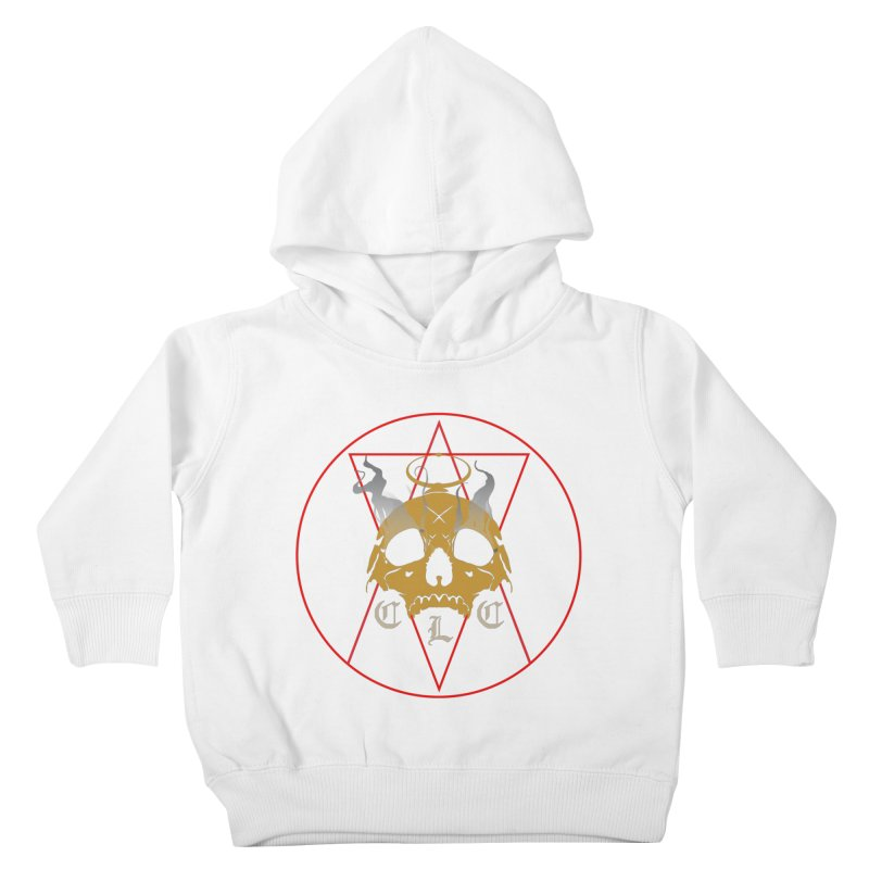 "CLC ""Broken Up"" Logo Kids Toddler Pullover Hoody by Cold Lantern Collection"