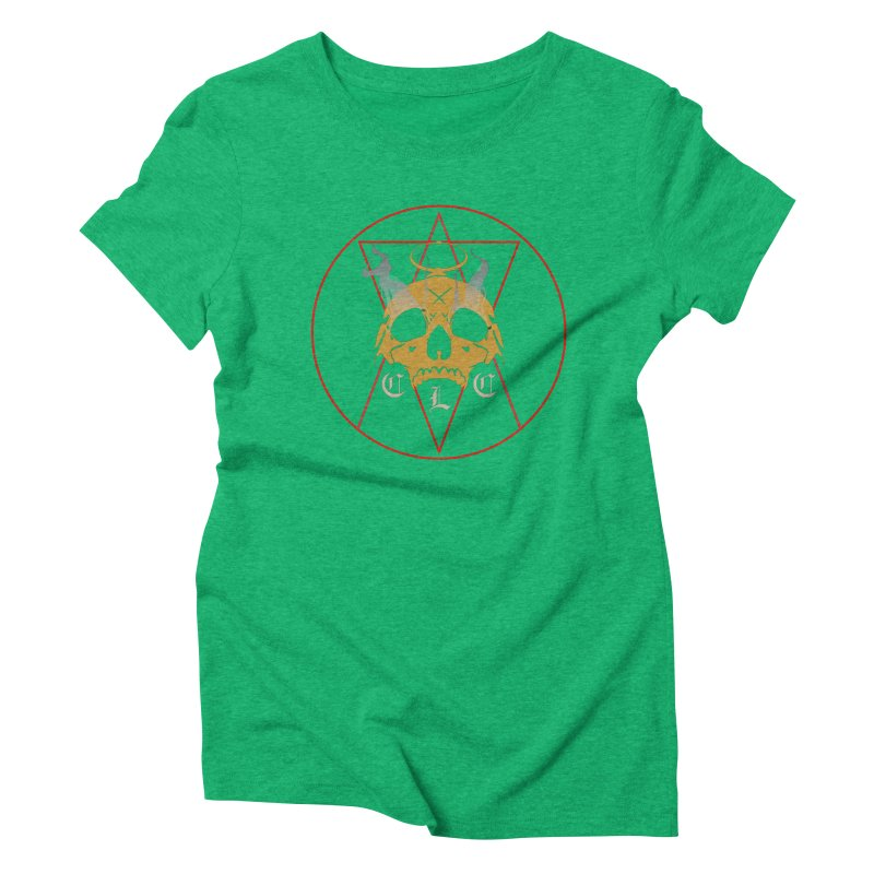 """CLC """"Broken Up"""" Logo Women's Triblend T-Shirt by Cold Lantern Collection"""