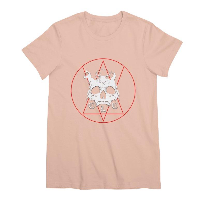 "CLC ""Light & Shadow"" Logo Women's Premium T-Shirt by Cold Lantern Collection"