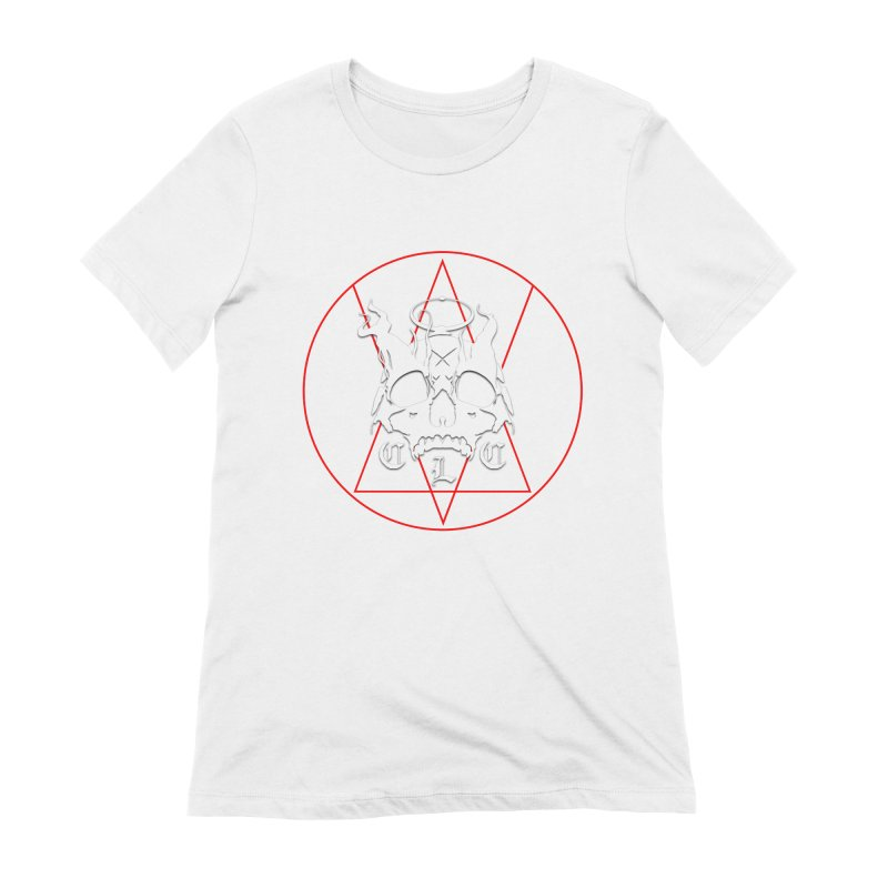 """CLC """"Light & Shadow"""" Logo Women's Extra Soft T-Shirt by Cold Lantern Collection"""