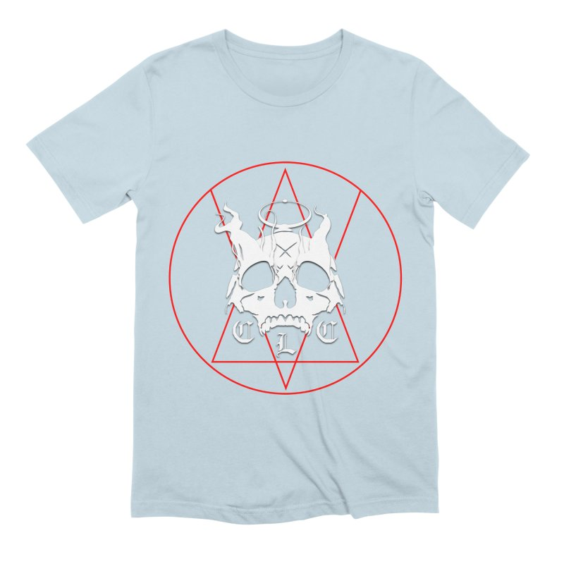 """CLC """"Light & Shadow"""" Logo Men's Extra Soft T-Shirt by Cold Lantern Collection"""