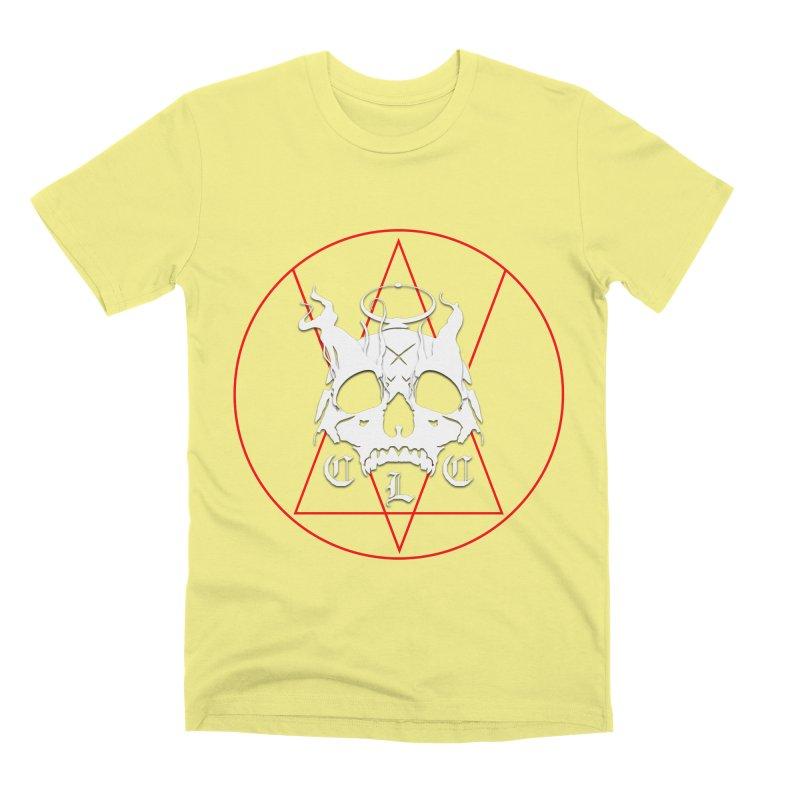 "CLC ""Light & Shadow"" Logo Men's Premium T-Shirt by Cold Lantern Collection"