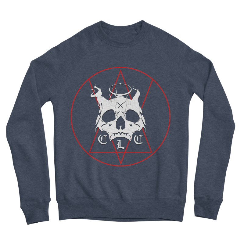 "CLC ""Light & Shadow"" Logo Women's Sponge Fleece Sweatshirt by Cold Lantern Collection"
