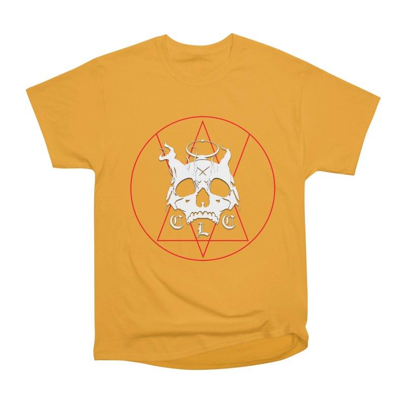 "CLC ""Light & Shadow"" Logo Women's Heavyweight Unisex T-Shirt by Cold Lantern Collection"
