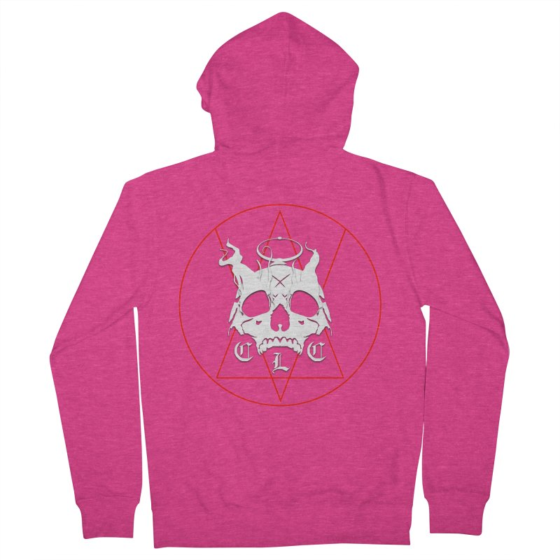 """CLC """"Light & Shadow"""" Logo Women's French Terry Zip-Up Hoody by Cold Lantern Collection"""