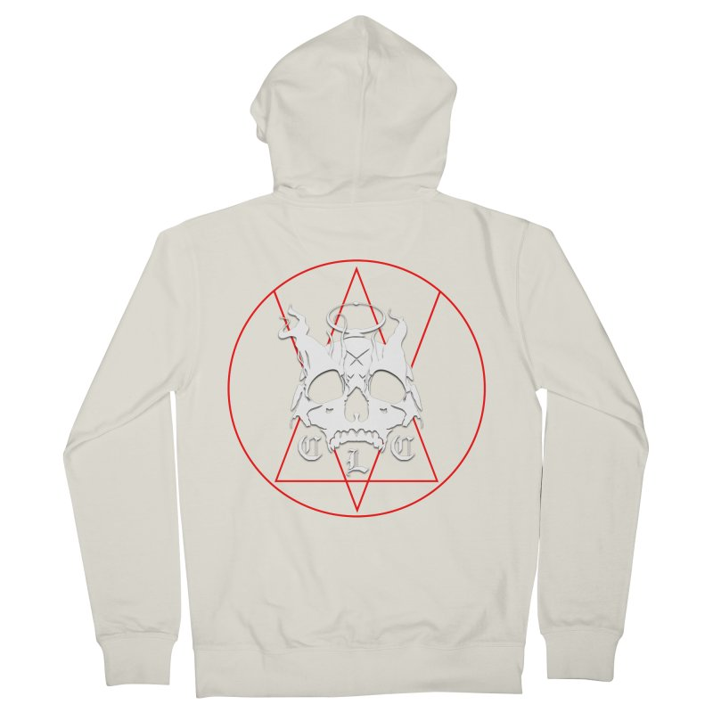 """CLC """"Light & Shadow"""" Logo Men's French Terry Zip-Up Hoody by Cold Lantern Collection"""
