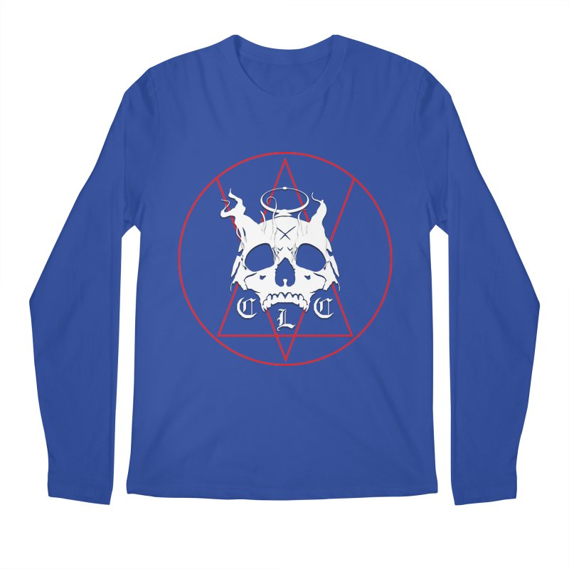"CLC ""Light & Shadow"" Logo Men's Regular Longsleeve T-Shirt by Cold Lantern Collection"