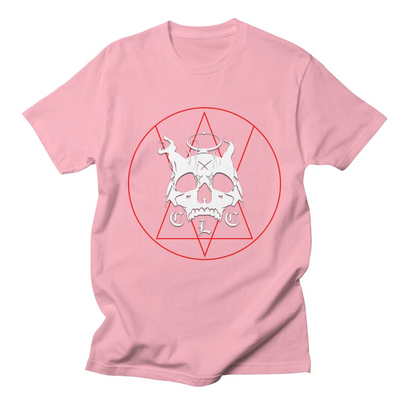 "CLC ""Light & Shadow"" Logo Men's Regular T-Shirt by Cold Lantern Collection"