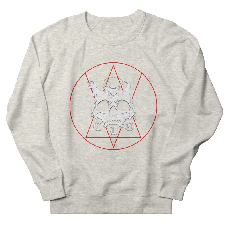 """CLC """"Light & Shadow"""" Logo Women's French Terry Sweatshirt by Cold Lantern Collection"""