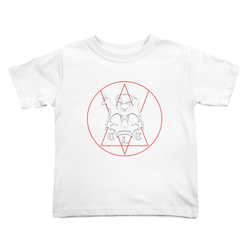 """CLC """"Light & Shadow"""" Logo Kids Toddler T-Shirt by Cold Lantern Collection"""