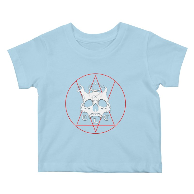 "CLC ""Light & Shadow"" Logo Kids Baby T-Shirt by Cold Lantern Collection"