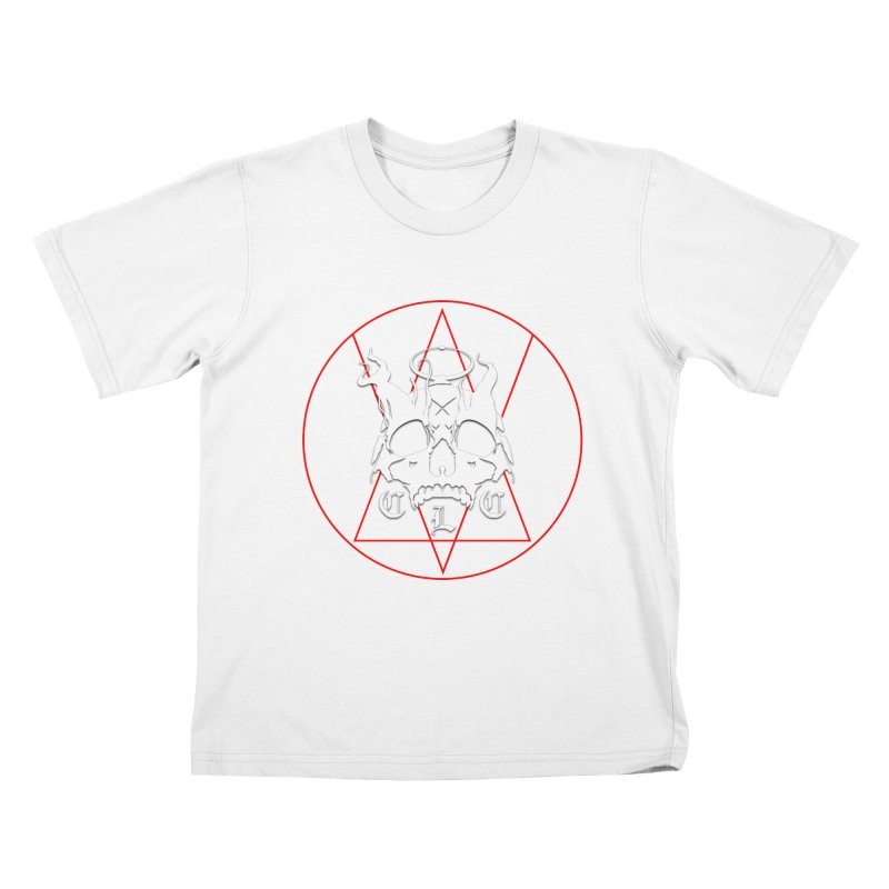 """CLC """"Light & Shadow"""" Logo Kids T-Shirt by Cold Lantern Collection"""