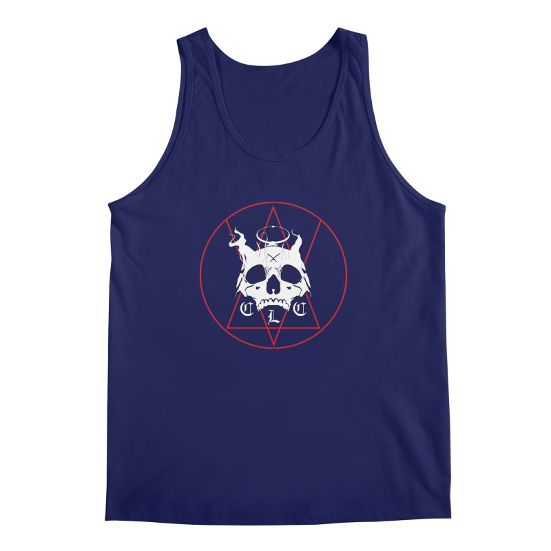 "CLC ""Light & Shadow"" Logo Men's Regular Tank by Cold Lantern Collection"