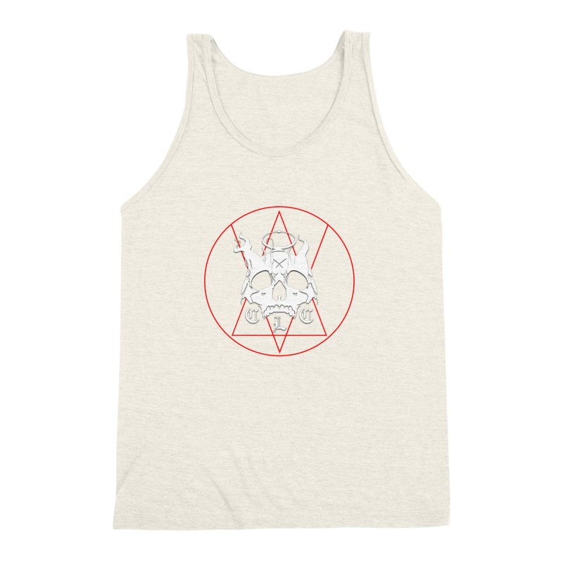 "CLC ""Light & Shadow"" Logo Men's Triblend Tank by Cold Lantern Collection"