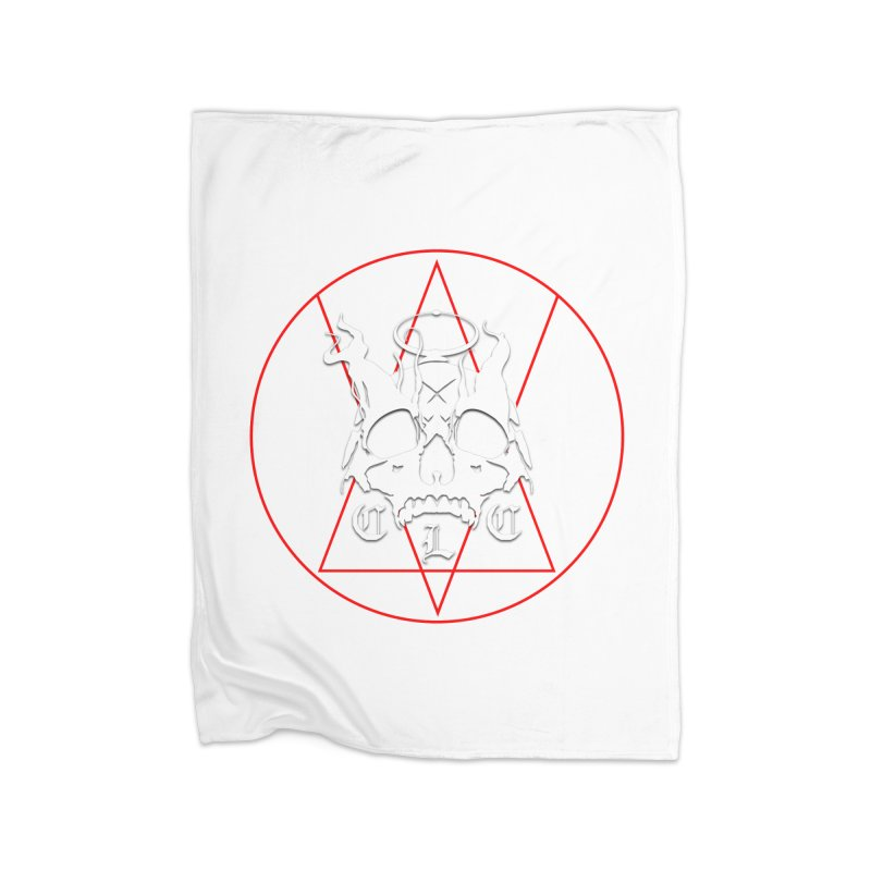 "CLC ""Light & Shadow"" Logo Home Fleece Blanket Blanket by Cold Lantern Collection"