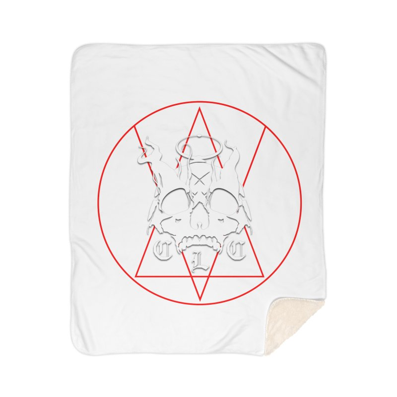 "CLC ""Light & Shadow"" Logo Home Sherpa Blanket Blanket by Cold Lantern Collection"