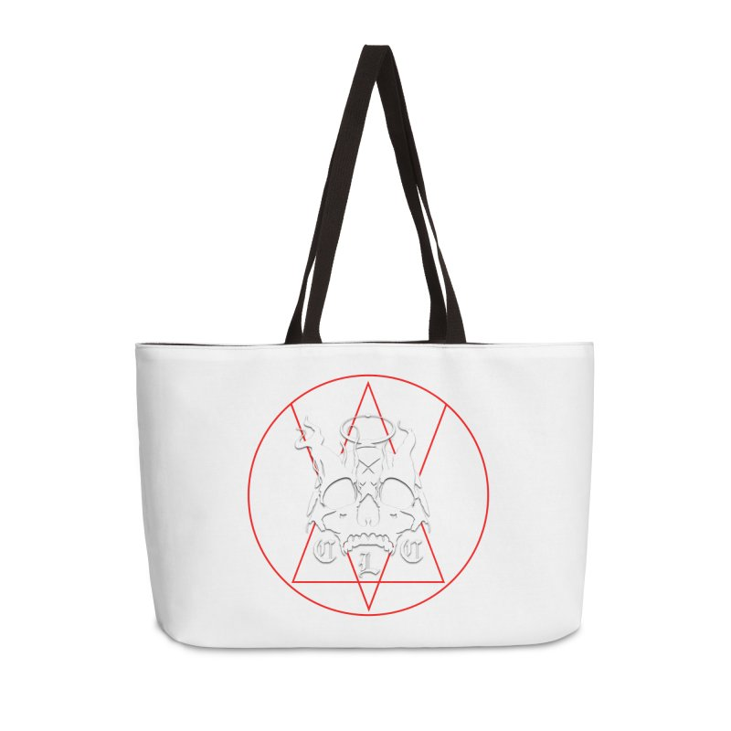 "CLC ""Light & Shadow"" Logo Accessories Weekender Bag Bag by Cold Lantern Collection"