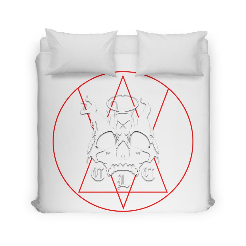 "CLC ""Light & Shadow"" Logo Home Duvet by Cold Lantern Collection"
