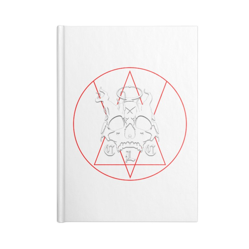 """CLC """"Light & Shadow"""" Logo Accessories Lined Journal Notebook by Cold Lantern Collection"""