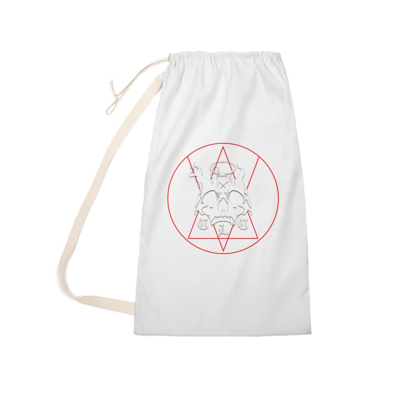 "CLC ""Light & Shadow"" Logo Accessories Laundry Bag Bag by Cold Lantern Collection"