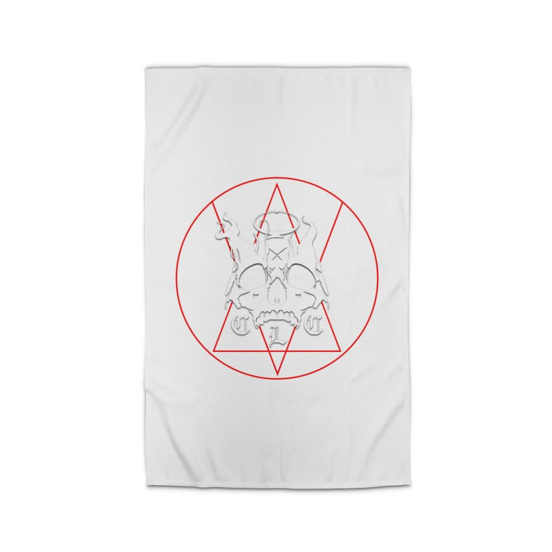 "CLC ""Light & Shadow"" Logo Home Rug by Cold Lantern Collection"