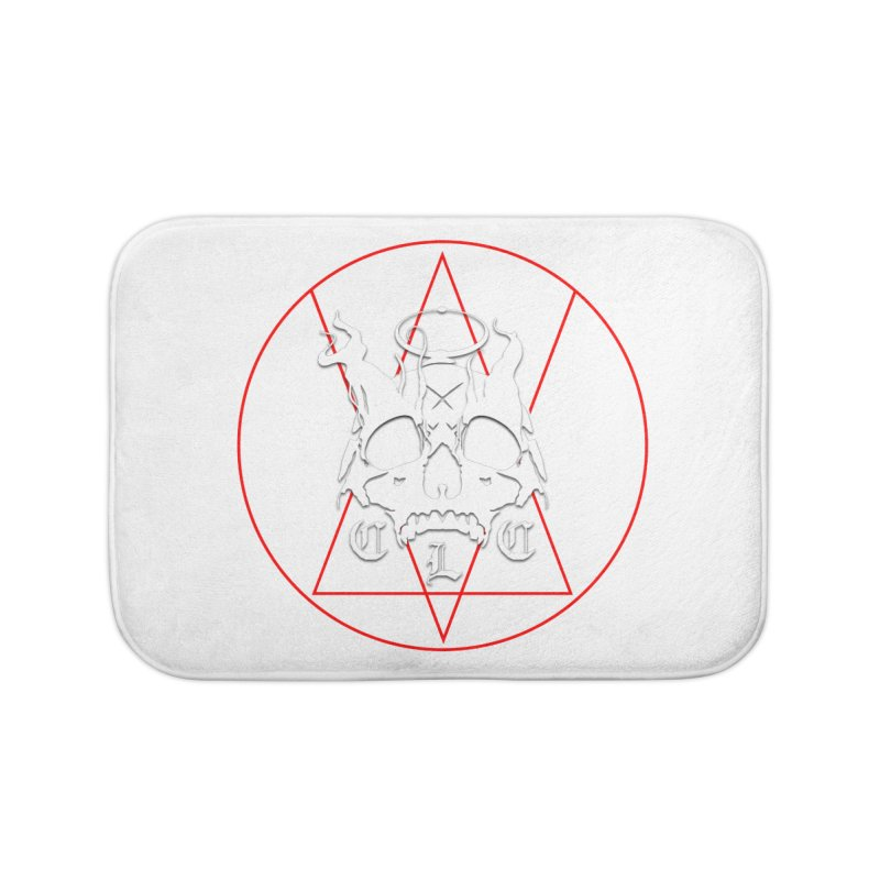 "CLC ""Light & Shadow"" Logo Home Bath Mat by Cold Lantern Collection"