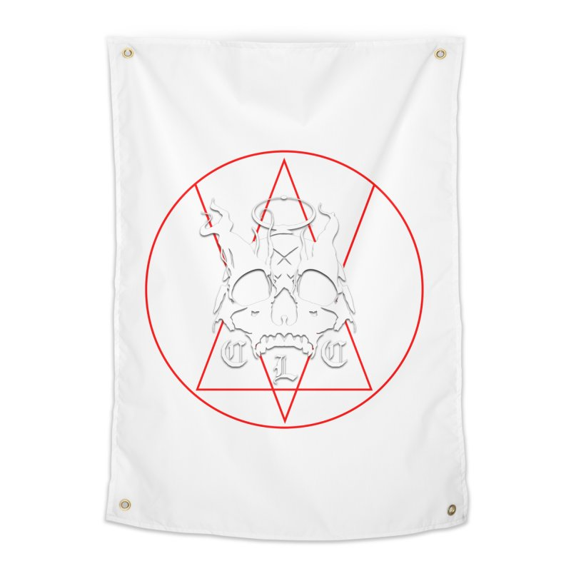 "CLC ""Light & Shadow"" Logo Home Tapestry by Cold Lantern Collection"