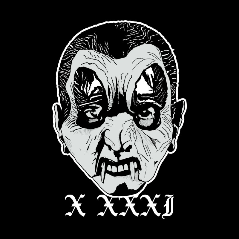 "X XXXI ""Vampire Kid"" Men's Longsleeve T-Shirt by Cold Lantern Collection"