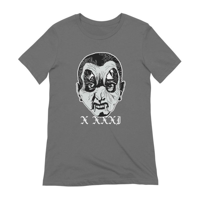 "X XXXI ""Vampire Kid"" Women's Extra Soft T-Shirt by Cold Lantern Design"