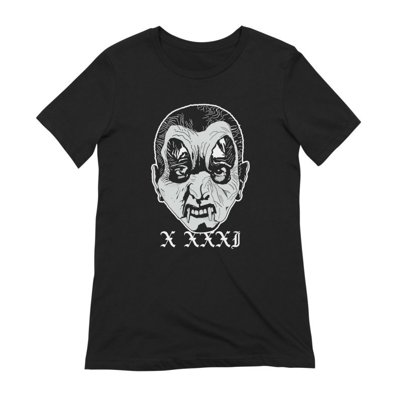 """X XXXI """"Vampire Kid"""" Women's Extra Soft T-Shirt by Cold Lantern Collection"""