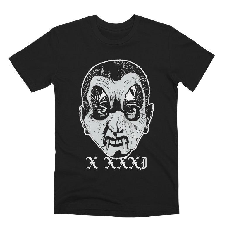 "X XXXI ""Vampire Kid"" Men's Premium T-Shirt by Cold Lantern Design"