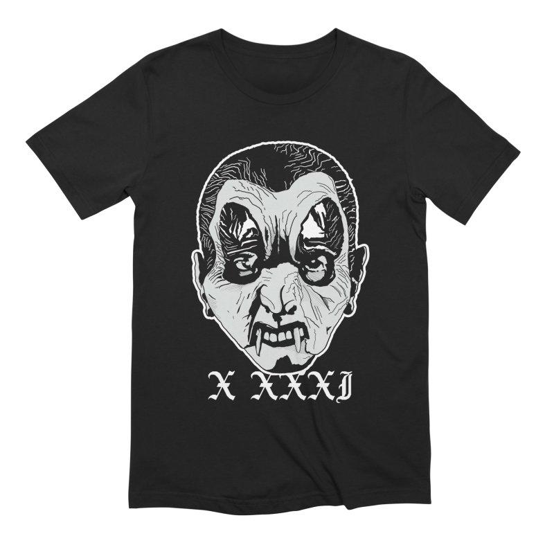 "X XXXI ""Vampire Kid"" in Men's Extra Soft T-Shirt Black by Cold Lantern Design"