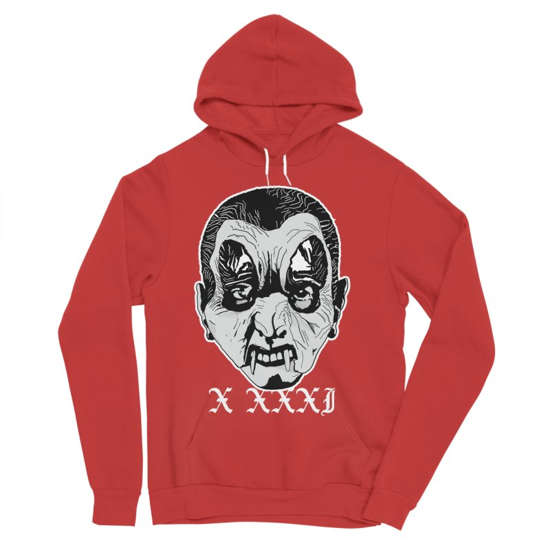 "X XXXI ""Vampire Kid"" Men's Sponge Fleece Pullover Hoody by Cold Lantern Collection"