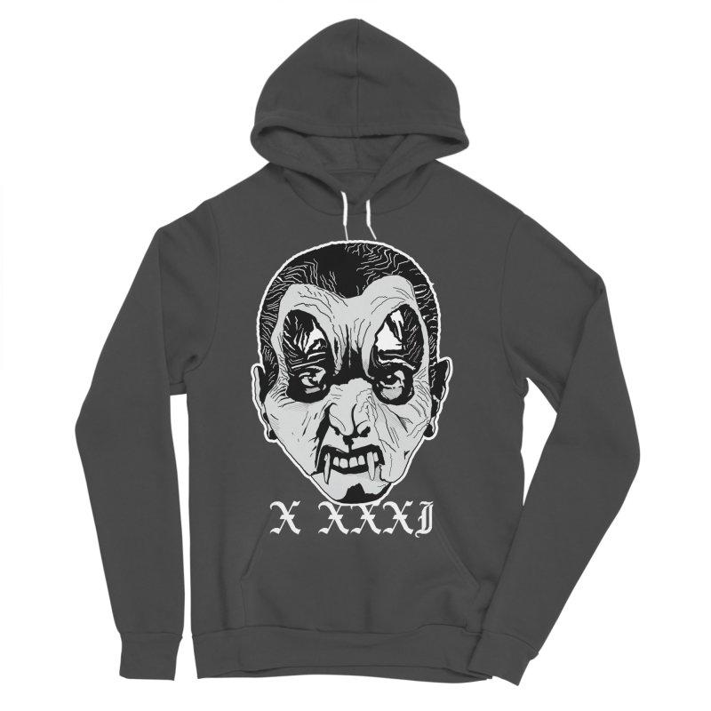 "X XXXI ""Vampire Kid"" Women's Sponge Fleece Pullover Hoody by Cold Lantern Collection"