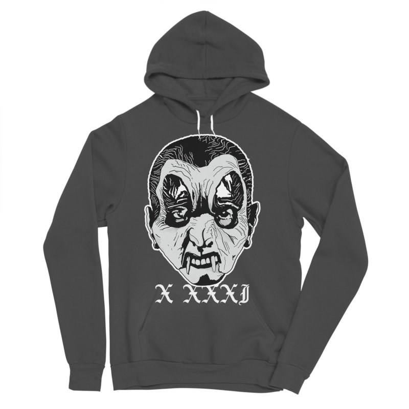 "X XXXI ""Vampire Kid"" Men's Sponge Fleece Pullover Hoody by Cold Lantern Design"
