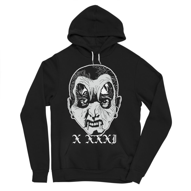 "X XXXI ""Vampire Kid"" Women's Sponge Fleece Pullover Hoody by Cold Lantern Collection"