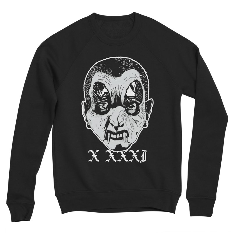 "X XXXI ""Vampire Kid"" Men's Sponge Fleece Sweatshirt by Cold Lantern Collection"