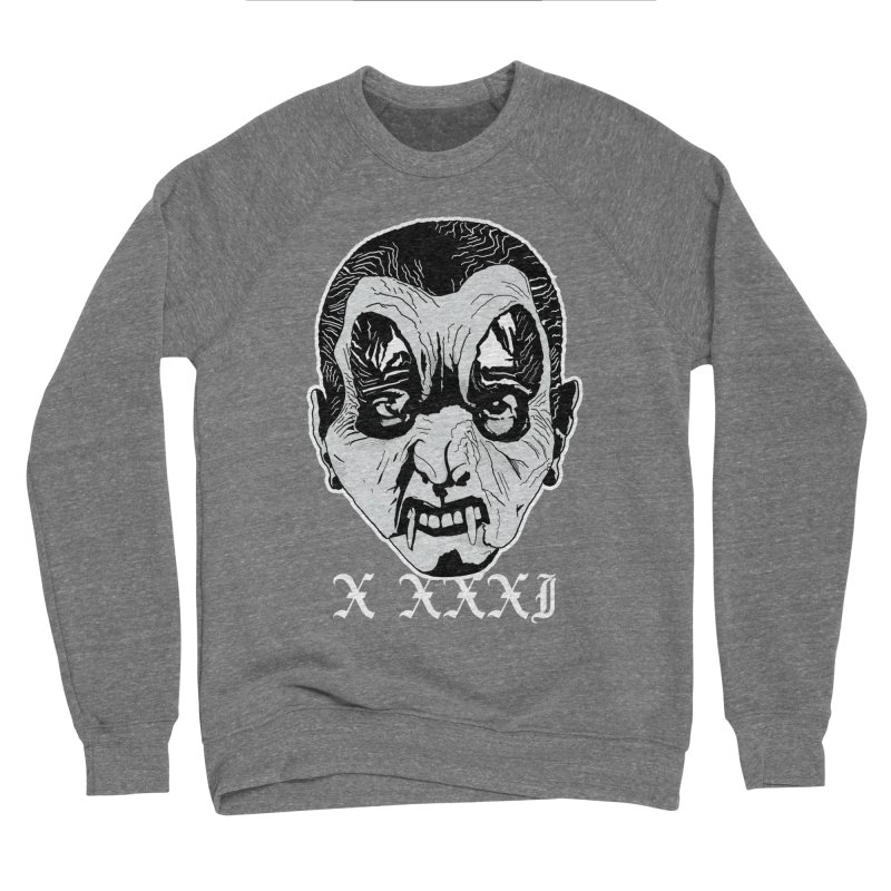 "X XXXI ""Vampire Kid"" Women's Sponge Fleece Sweatshirt by Cold Lantern Collection"