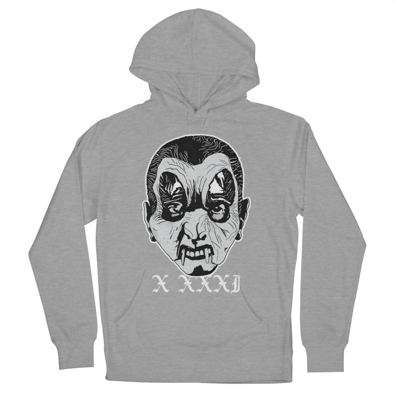 "X XXXI ""Vampire Kid"" Women's French Terry Pullover Hoody by Cold Lantern Collection"
