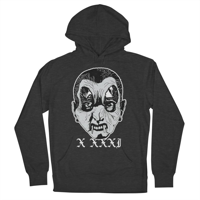 """X XXXI """"Vampire Kid"""" Men's French Terry Pullover Hoody by Cold Lantern Collection"""