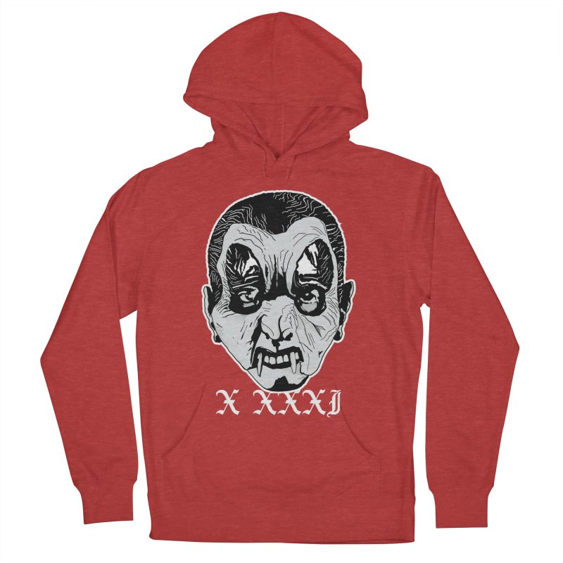 "X XXXI ""Vampire Kid"" Men's French Terry Pullover Hoody by Cold Lantern Collection"