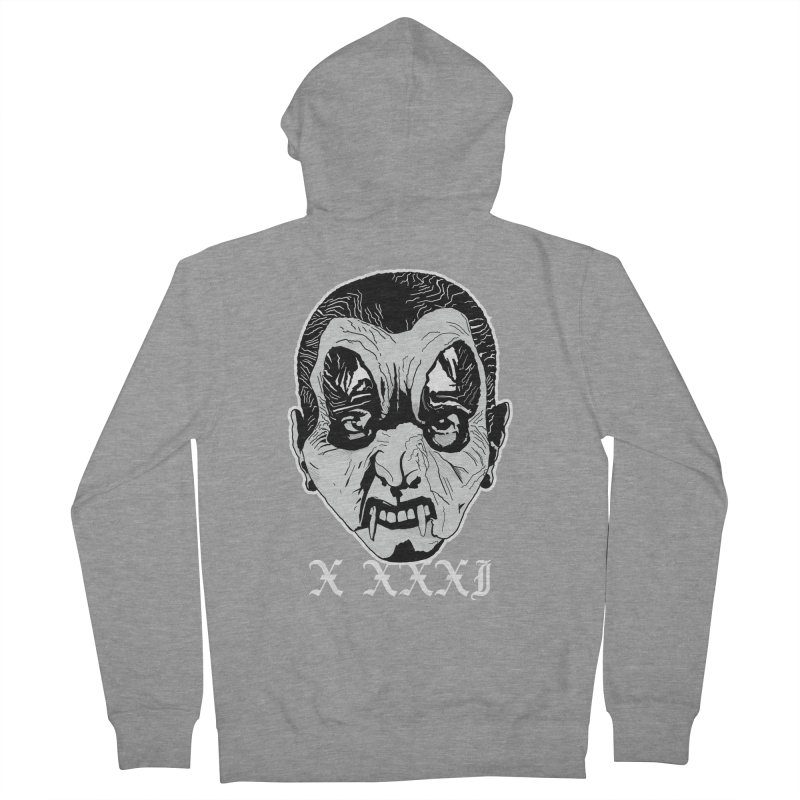 "X XXXI ""Vampire Kid"" Women's French Terry Zip-Up Hoody by Cold Lantern Collection"