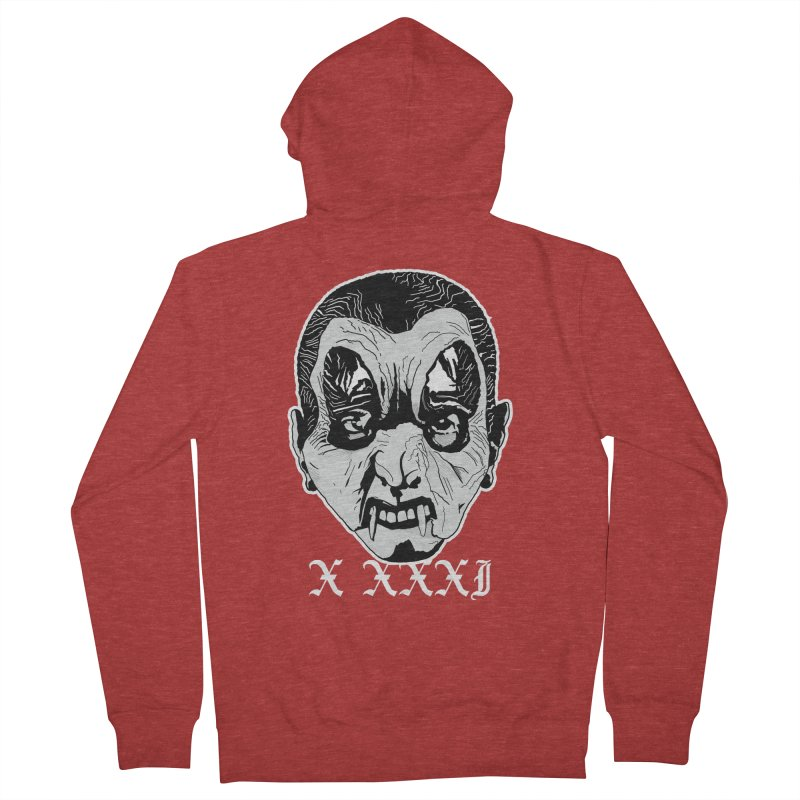 """X XXXI """"Vampire Kid"""" Women's French Terry Zip-Up Hoody by Cold Lantern Collection"""