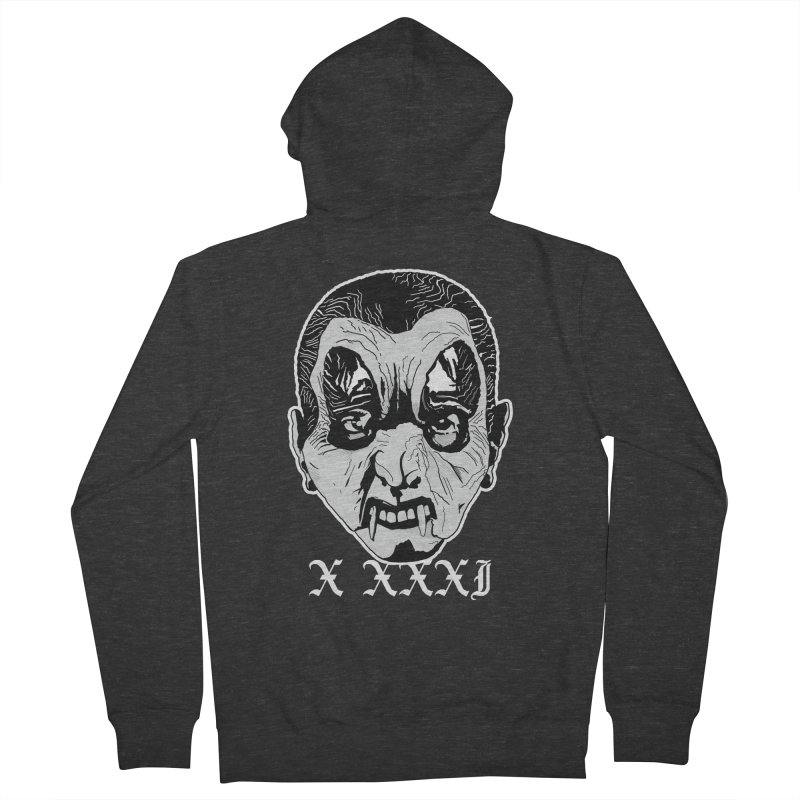 "X XXXI ""Vampire Kid"" Men's French Terry Zip-Up Hoody by Cold Lantern Collection"